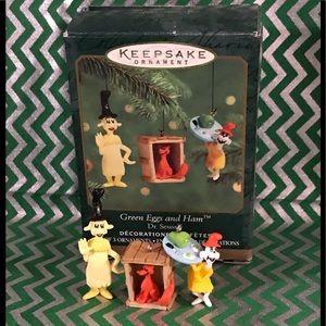 Vintage Hallmark Keepsake ornament Dr. Seuss